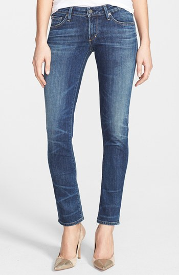 Women's Citizens Of Humanity 'Racer' Whiskered Skinny Jeans