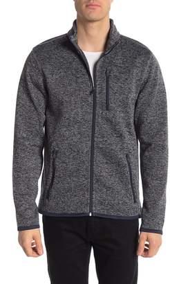 Tailor Vintage Full Zip Sweater Fleece Jacket