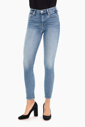 7 For All Mankind Muse High Waist Ankle Skinny Jeans
