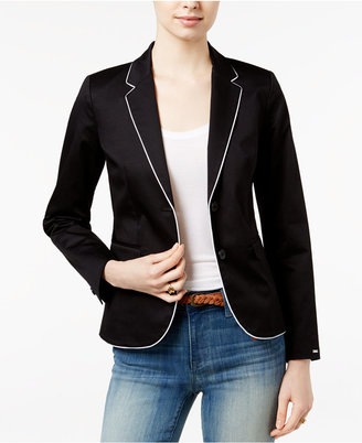 Tommy Hilfiger Wendy Two-Button Blazer, Only at Macy's $119.50 thestylecure.com