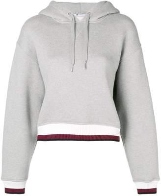 Alexander Wang contrast band hoodie