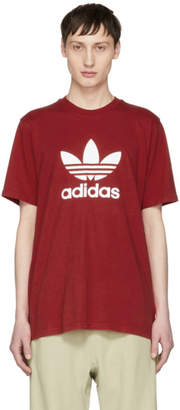 adidas Red Trefoil T-Shirt
