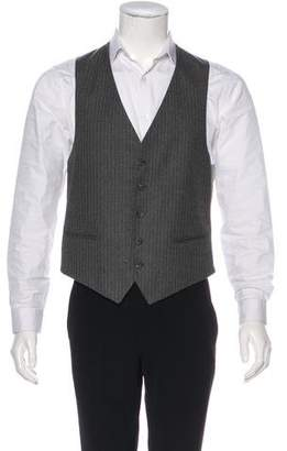 Givenchy Striped Suit Vest