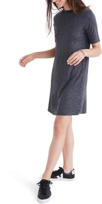 Madewell Mock Neck Boxy T-Shirt Dress