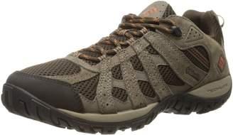 Columbia Men's Redmond Trail Shoe, Cordovan/Dark, 10.5 M US