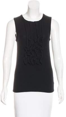 Tory Burch Cashmere Knit Sleeveless Top