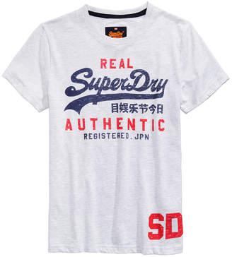 Superdry Men's Vintage Authentic Duo Logo-Print T-Shirt