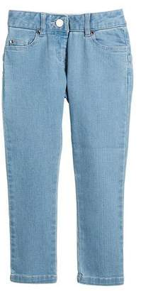 Givenchy Star-Back Denim Trousers, Size 4-5