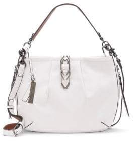 Vince Camuto Luk Leather Crossbody Satchel Bag