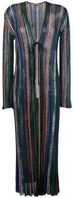 Missoni striped long cardigan