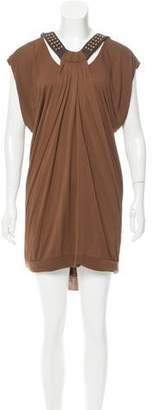 Yigal Azrouel Embellished Shift Dress