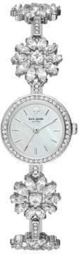 Kate Spade Analog Daisy Chain Crystal Bracelet Watch