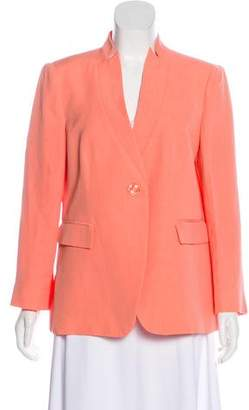 Armani Collezioni Notch-Lapel Structured Blazer