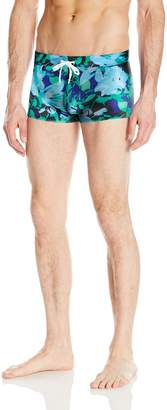 2xist Men's Cabo Pattern Swim Trunk