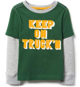 Crazy 8 Crazy8 Toddler Keep On Truck'n Tee