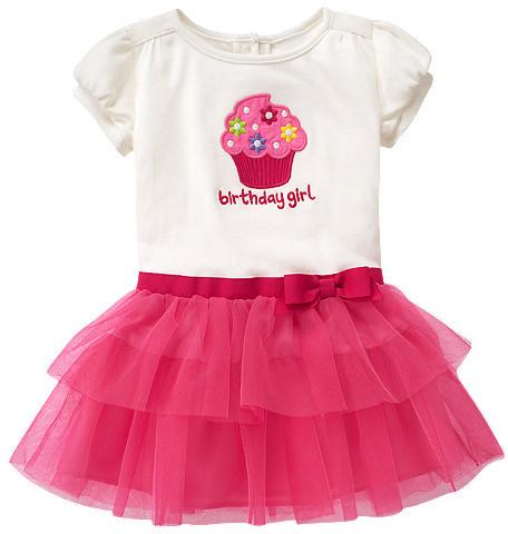 Gymboree Birthday Girl Tulle Dress
