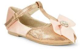Girl's Rosie Sequin T-Strap Shoes
