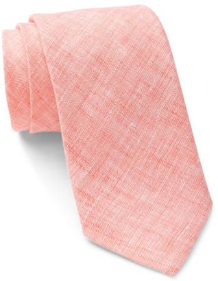 ALEXANDER OLCH Narrow Solid Linen Tie $150 thestylecure.com