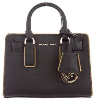 MICHAEL Michael Kors Textured Leather Top Handle Crossbody Bag