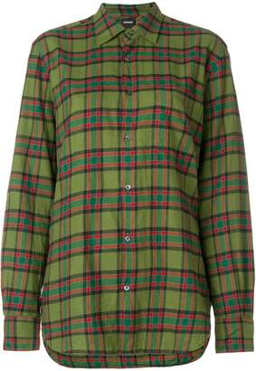 Aspesi checked button shirt