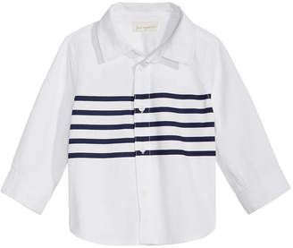 First Impressions Striped Cotton Shirt, Baby Boys, Created for Macy's