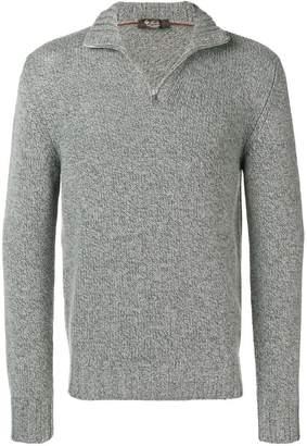 Loro Piana quarter zip sweater