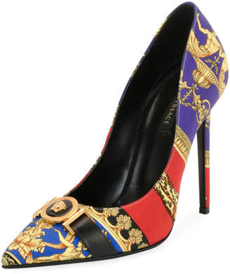 Versace Icon Pillow Talk 95mm Pumps