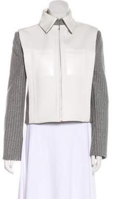 Dion Lee Wool Zip-Up Jacket