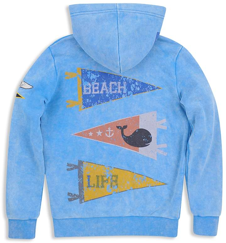 Boys' Mineral-Wash Beach Life Hoodie - Big Kid