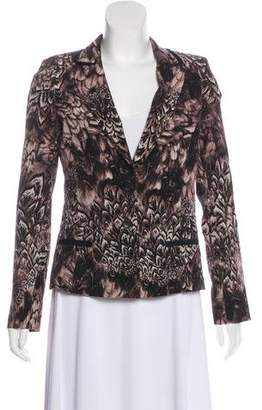 Of Two Minds Printed Structured Jacket w/ Tags
