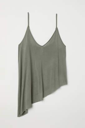 H&M Asymmetric Camisole Top - Green