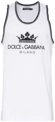 Dolce & Gabbana logo tank top