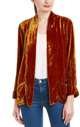 XCVI Silk-Blend Blazer