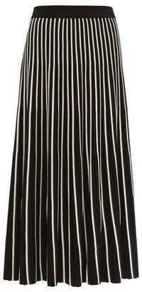 Max Mara Ariano Midi Skirt - Womens - Black White