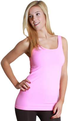 e317f943fea5a at Amazon Canada · Nikibiki Selling Signature Plain Jersey Long Tank Top  NS5178