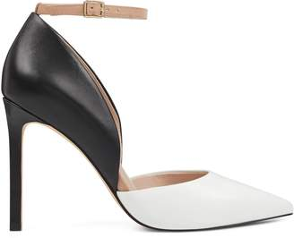 Nwwts Teach Pointy Toe Ankle Strap Pumps