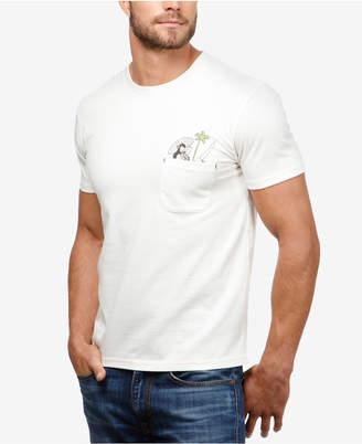 Lucky Brand Men's Hula Girl Pocket T-Shirt