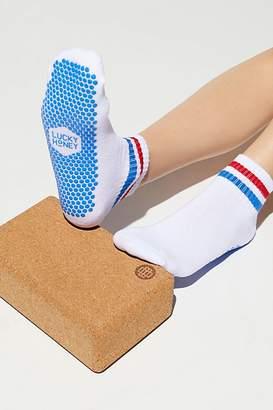 Lucky Honey Boyfriend Sport Grip Sock