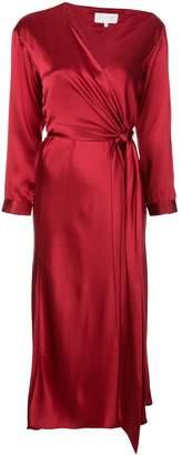 Mason by Michelle Mason asymmetric midi dress