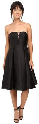 Adrianna Papell Strapless Mikado Party Dress Women's Dress
