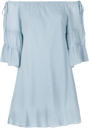 L'Autre Chose off-the-shoulder dress