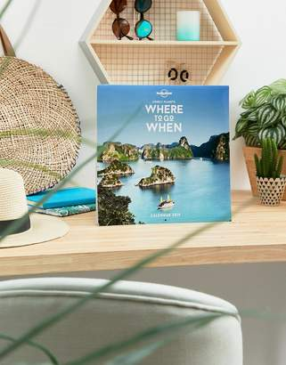 Books Lonely Planet Where to Go When 2019 Calendar