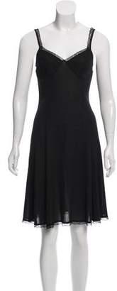 Dolce & Gabbana Lace Semi-Sheer Dress