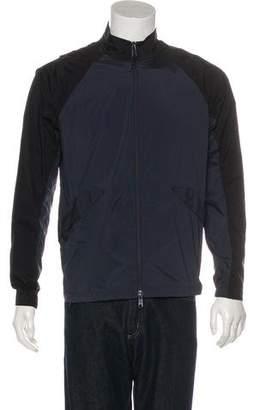 Theory Windbreaker Zip-Up Jacket