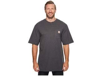 Carhartt Big Tall Workwear Pocket S/S Henley