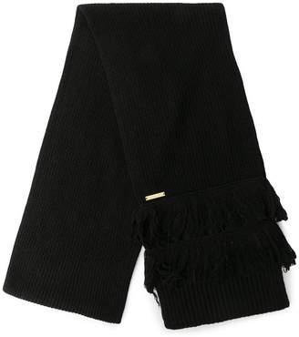 MICHAEL Michael Kors intarsia plain scarf