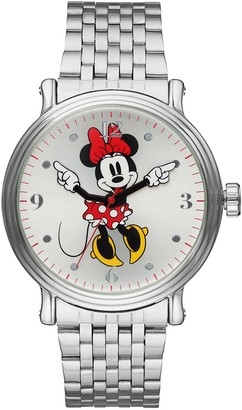 Disney Disney's Minnie Mouse Men's Stainless Steel Watch