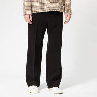 Men's Borrowed Chinos Black Melton