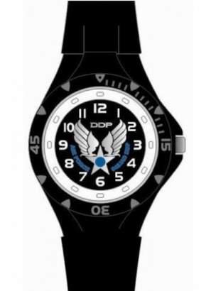 Egg Ddp EGG-DDP DDP 4019401 Boys' Analog Quartz Watch with Black Plastic Strap