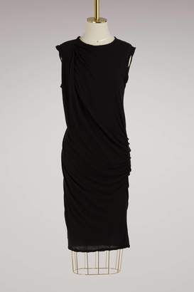James Perse Sleeveless draped dress